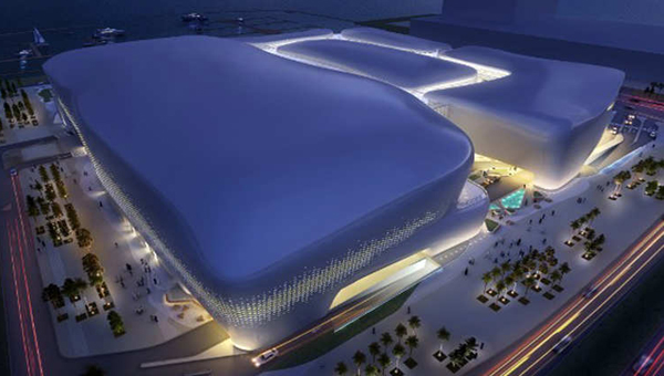 Courtesy HOK Group Marina Mall project planned for Lusail