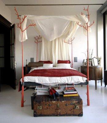 pretty-canopy-bed-design-idea-beach-bedroom-cottage-summer-look-casual-elegant-interesting